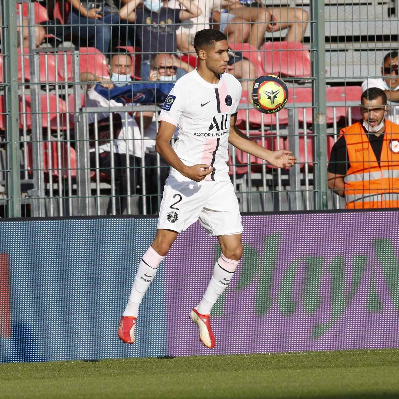 友谊赛:巴黎1-0奥尔良,阿什拉夫破门,小德多次造威胁