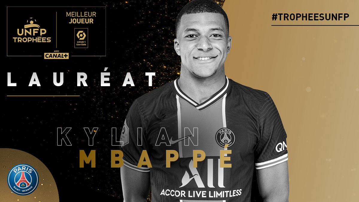 强势当选!姆巴佩被评为本赛季法甲最佳球员插图