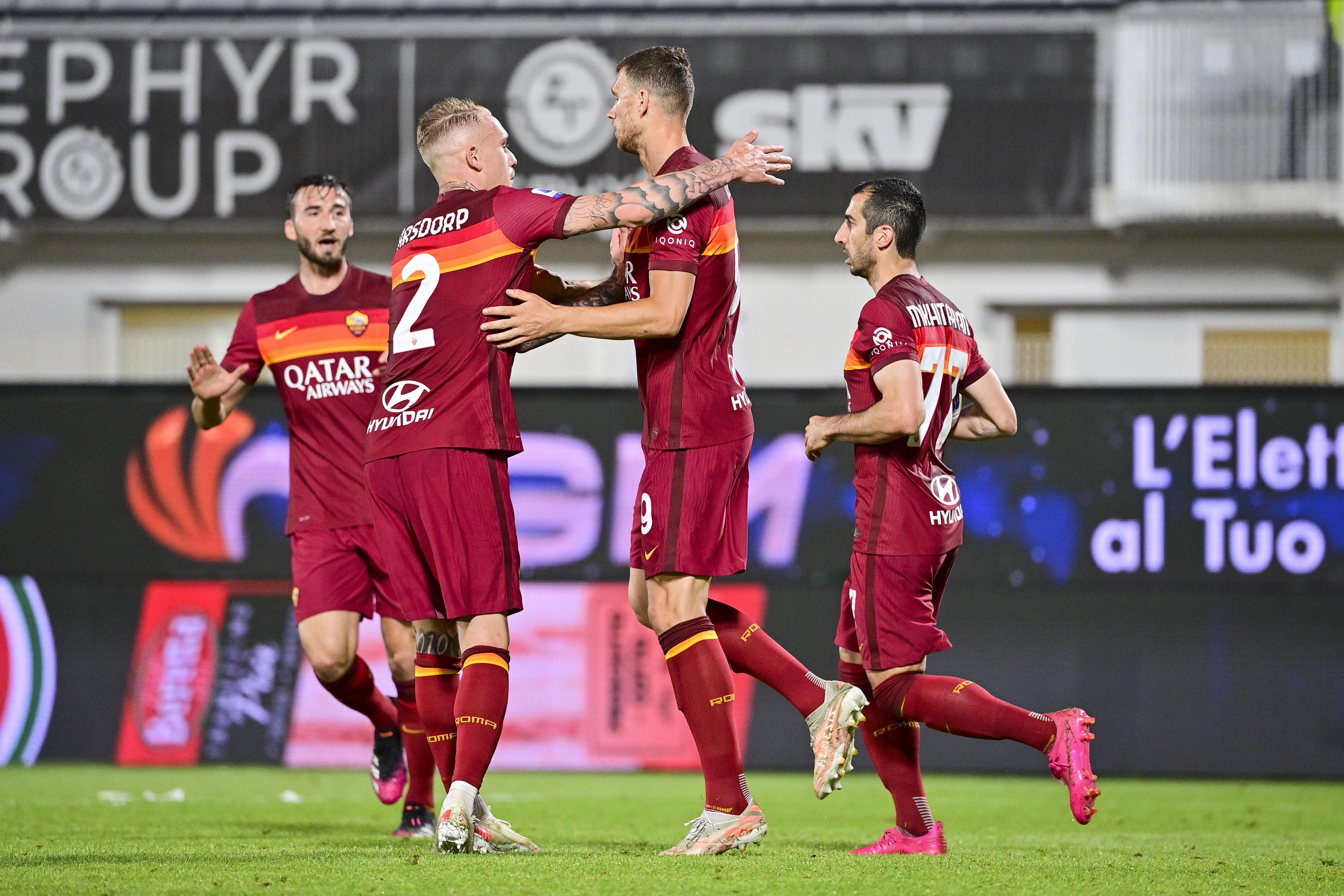 杀入欧会杯资格赛!罗马足协杯恒大2-2斯佩齐亚获得联赛第四