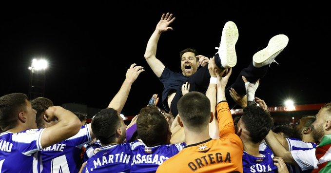 创造历史,阿隆索率皇家社会B队时隔60年重回西乙