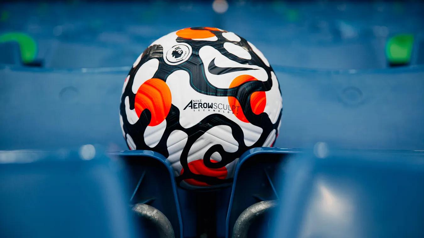 英超发布21/22赛季比赛用球,Flight ball配以创新花纹