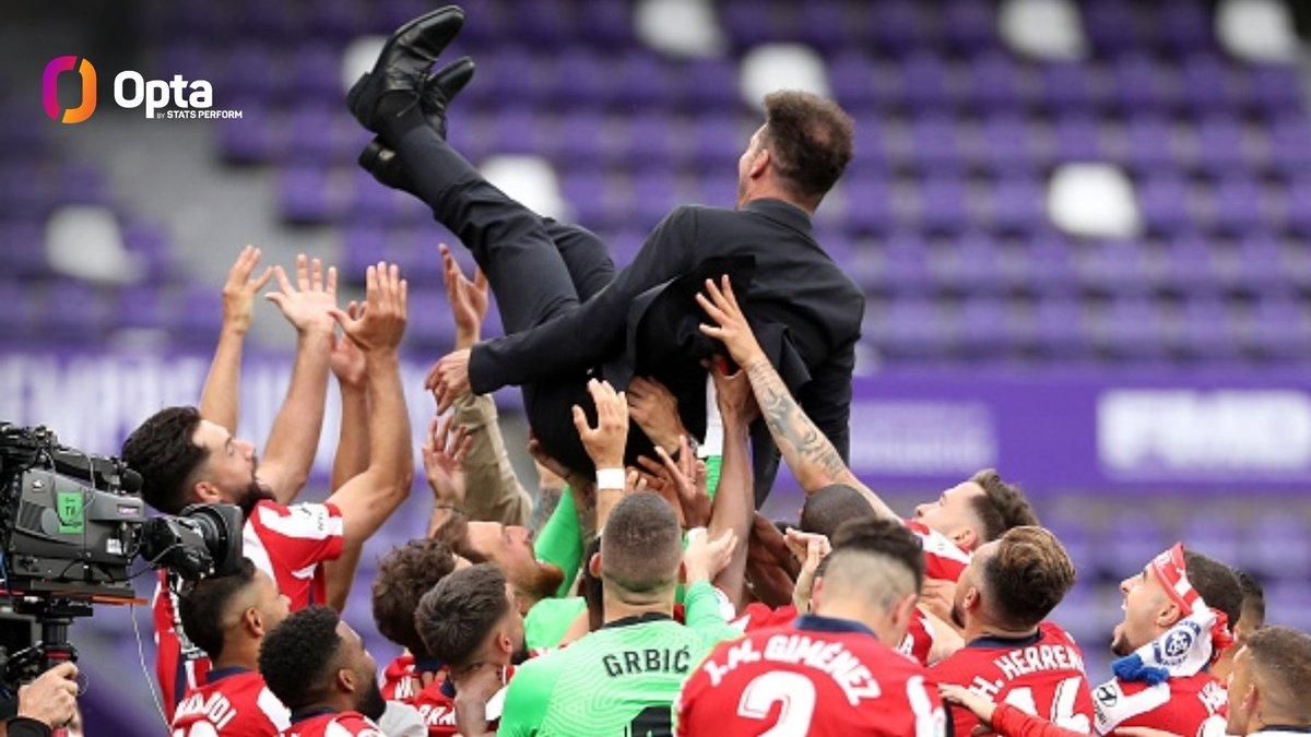 功勋教练!西蒙尼成马竞队史获冠军最多的主教练