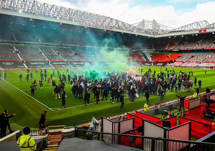 曼联官方:俱乐部人员开门让抗议者进球场的说法完全失实