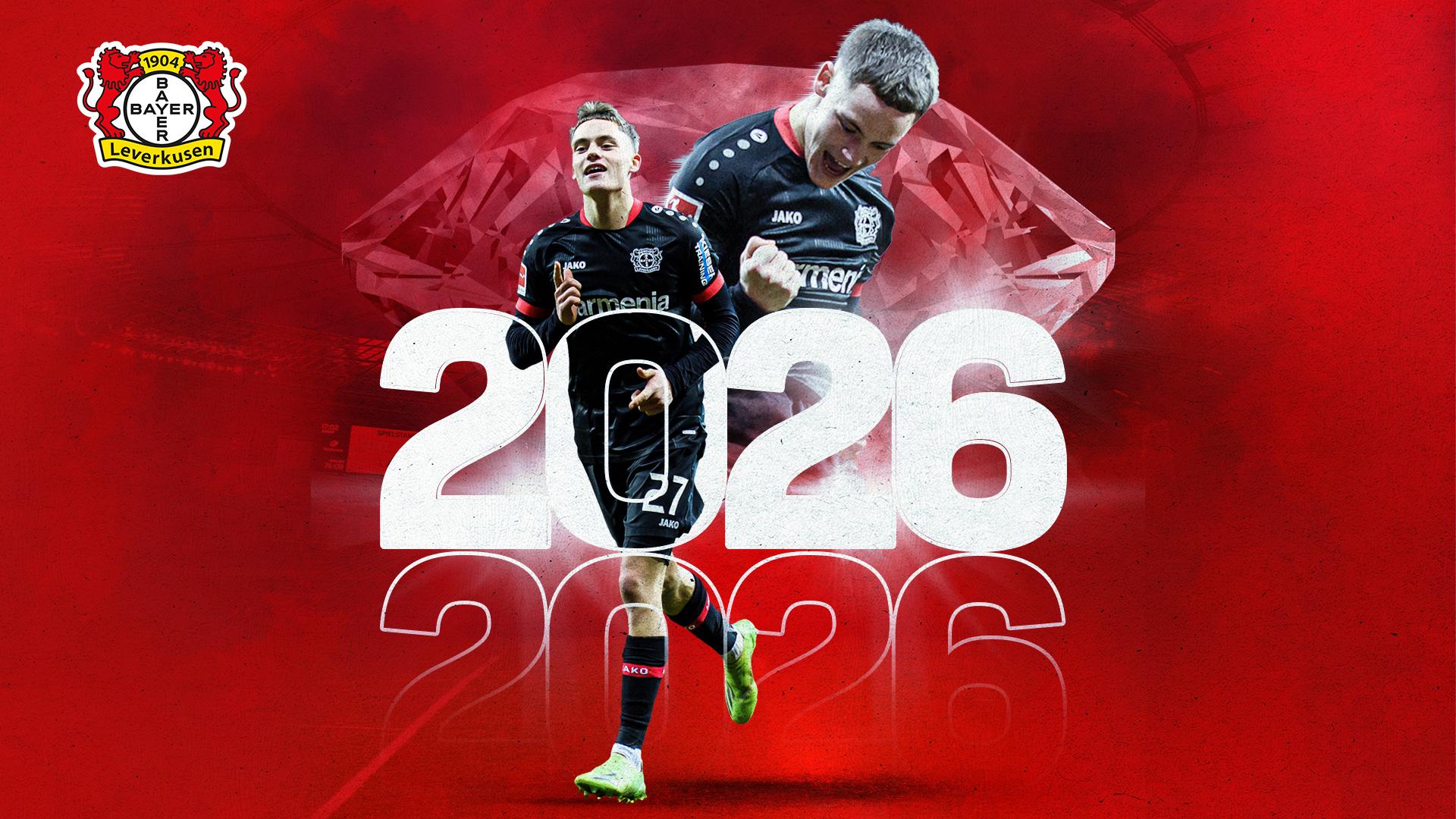 生日礼物!官方:勒沃库森与维尔茨续约到2026年