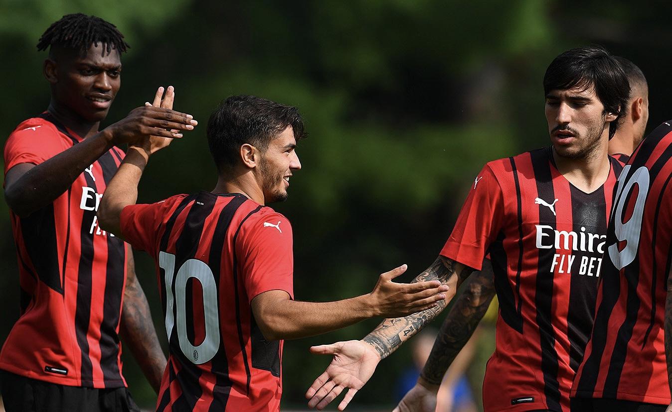 友谊赛:米兰5-0意丙摩德纳,特奥迪亚斯传射,托莫里破门