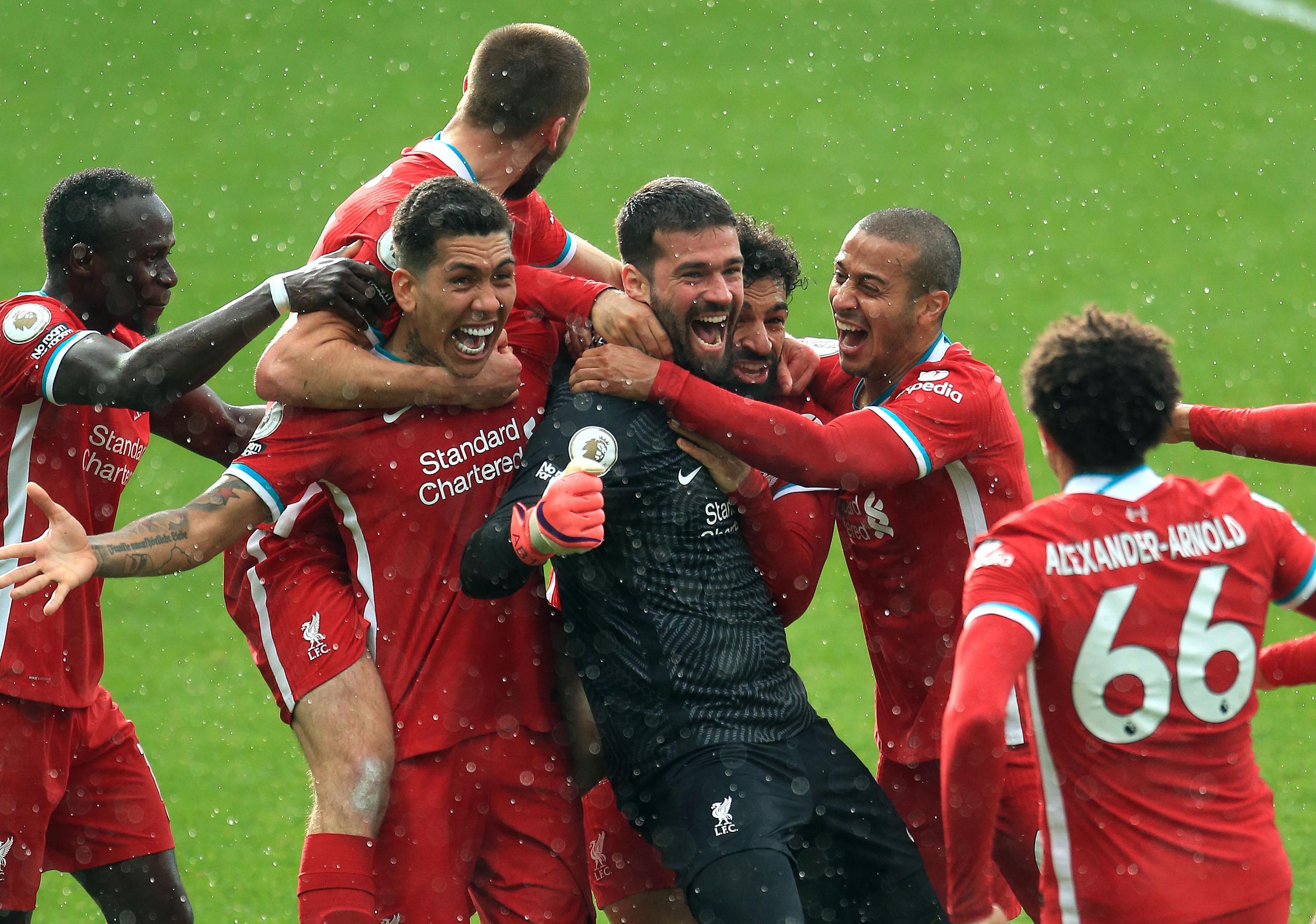 萨拉赫破门阿利松压哨绝杀,利物浦客场2-1西布朗距前四1分