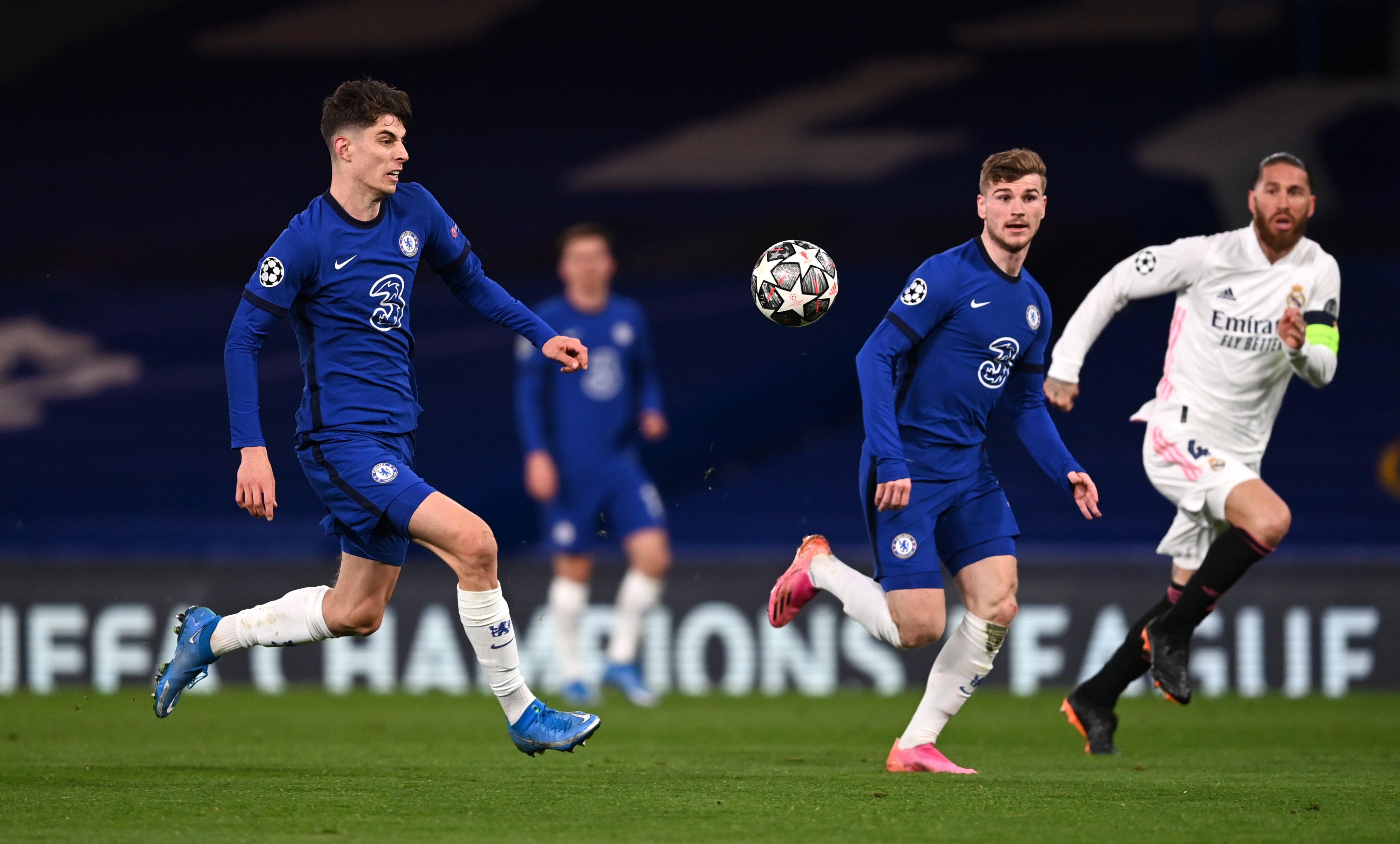 欧冠:维尔纳芒特建功,切尔西总比分3-1皇马晋级决赛
