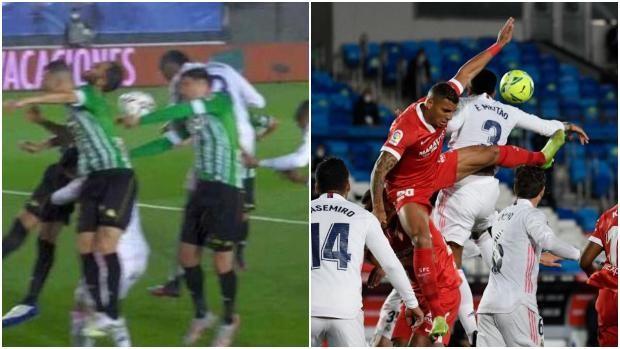 皇马三场VAR均为一人,出现相似手球争议,判罚却不同