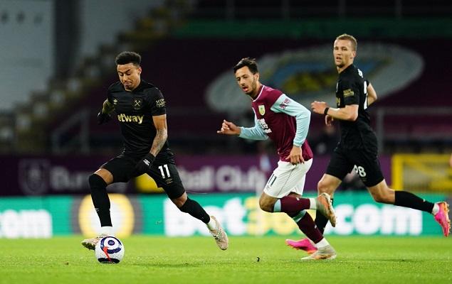 林加德策动进球安东尼奥梅开二度,西汉姆联客场2-1伯恩利