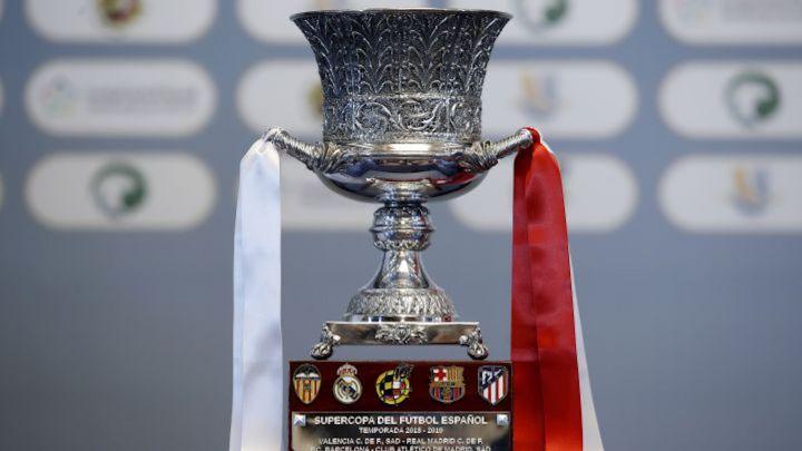下赛季西超杯半决赛对阵出炉:巴萨vs皇马,马竞vs毕包