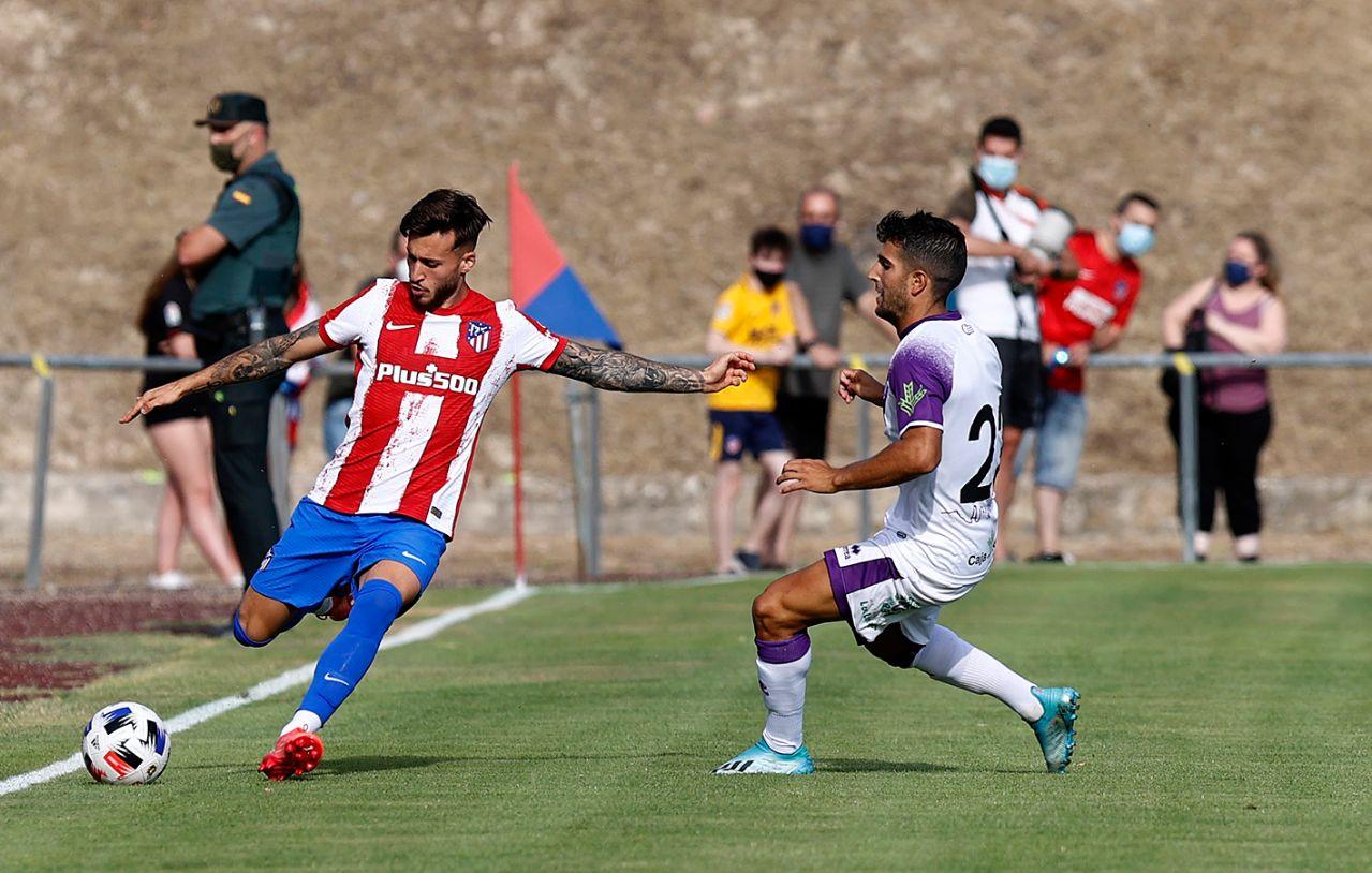 友谊赛:马竞1-1努曼西亚,索里亚诺破门,苏亚雷斯扳平比分
