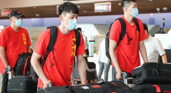 官方:中国男篮成员核酸检测均为阴性,已进行训练
