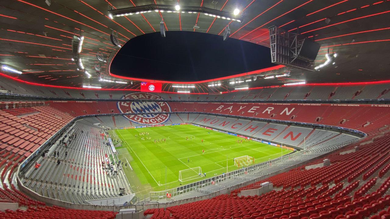 拜仁官方:最后一轮主场对阵奥格斯堡将开放250个观赛名额