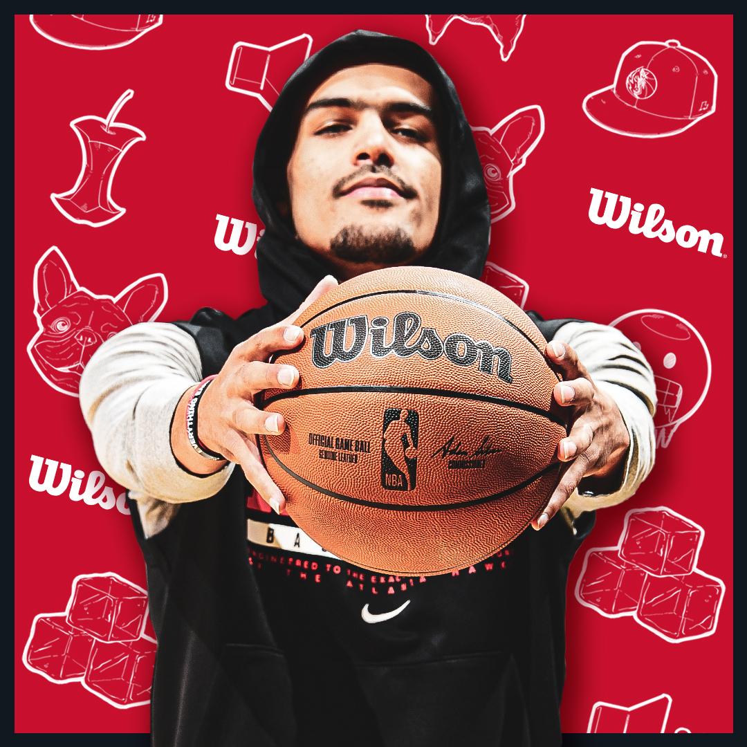 特雷-杨和默里成为Wilson篮球代言人