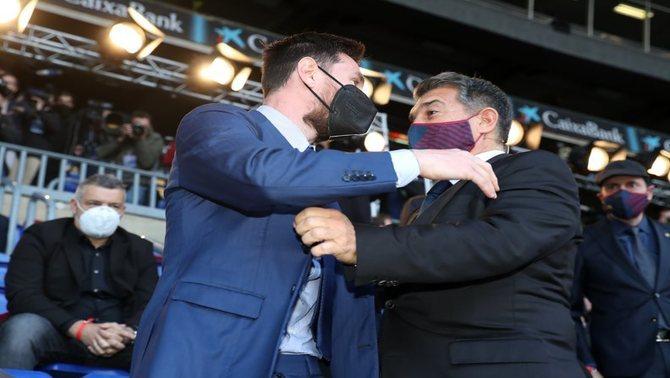 拉波尔塔与梅西父亲上周会面,梅西望降薪50%换10年合同-XI全网