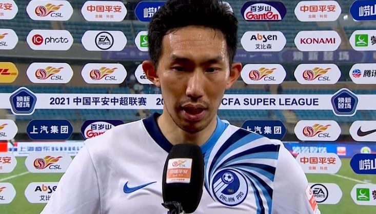 孙国文:回到大连备战要提高细节,非常感谢球迷们的支持