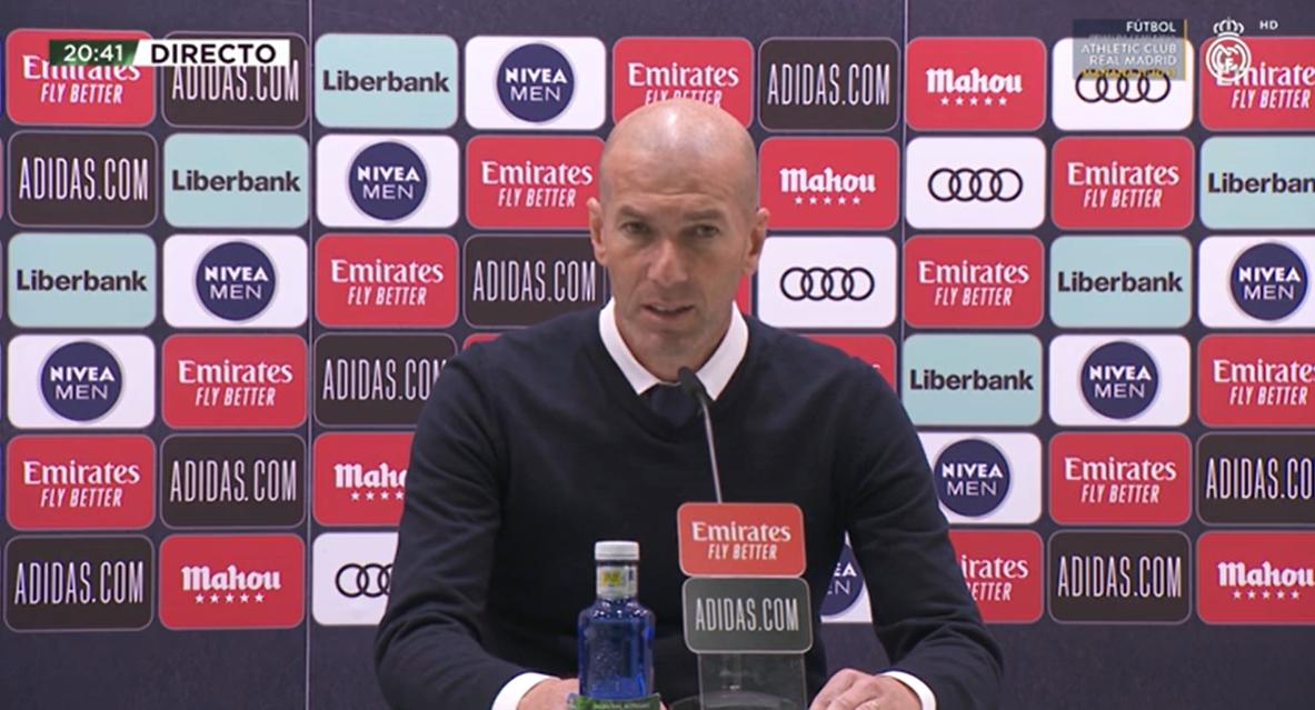 齐达内:过几天我会和俱乐部讨论下赛季的皇马怎么办