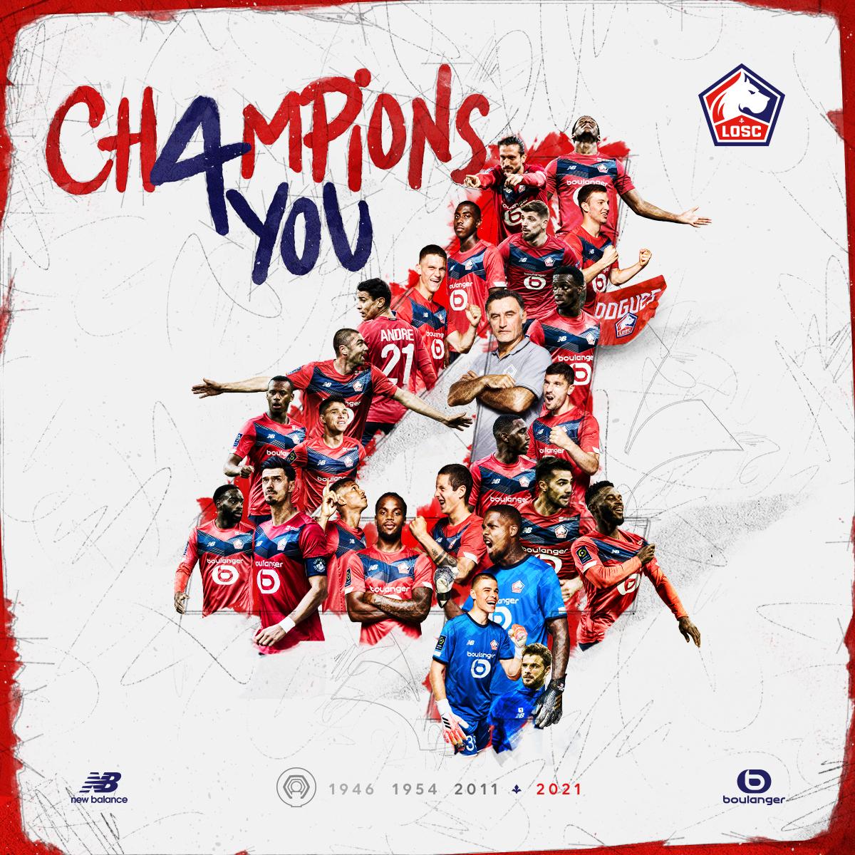 法甲大结局:巴黎卫冕失败,里尔时隔十年重夺法甲冠军插图