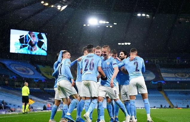欧冠:马赫雷斯双响迪马利亚直红,曼城总分4-1巴黎晋级决赛