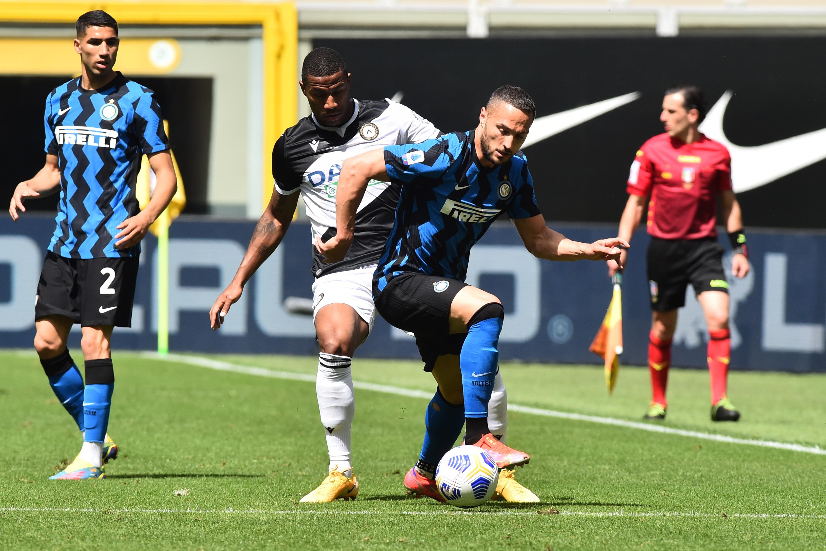 半场:阿什利-扬赛季首球埃里克森破门,国米2-0乌迪内斯