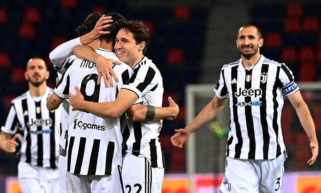 莫拉塔梅开二度,尤文客场4-1博洛尼亚以联赛第四挺进欧冠