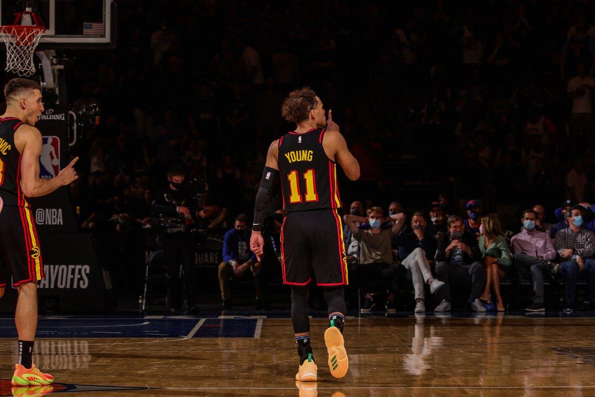 特雷-杨成为史上第四位在季后赛明星篮球赛得到30分10助的球员