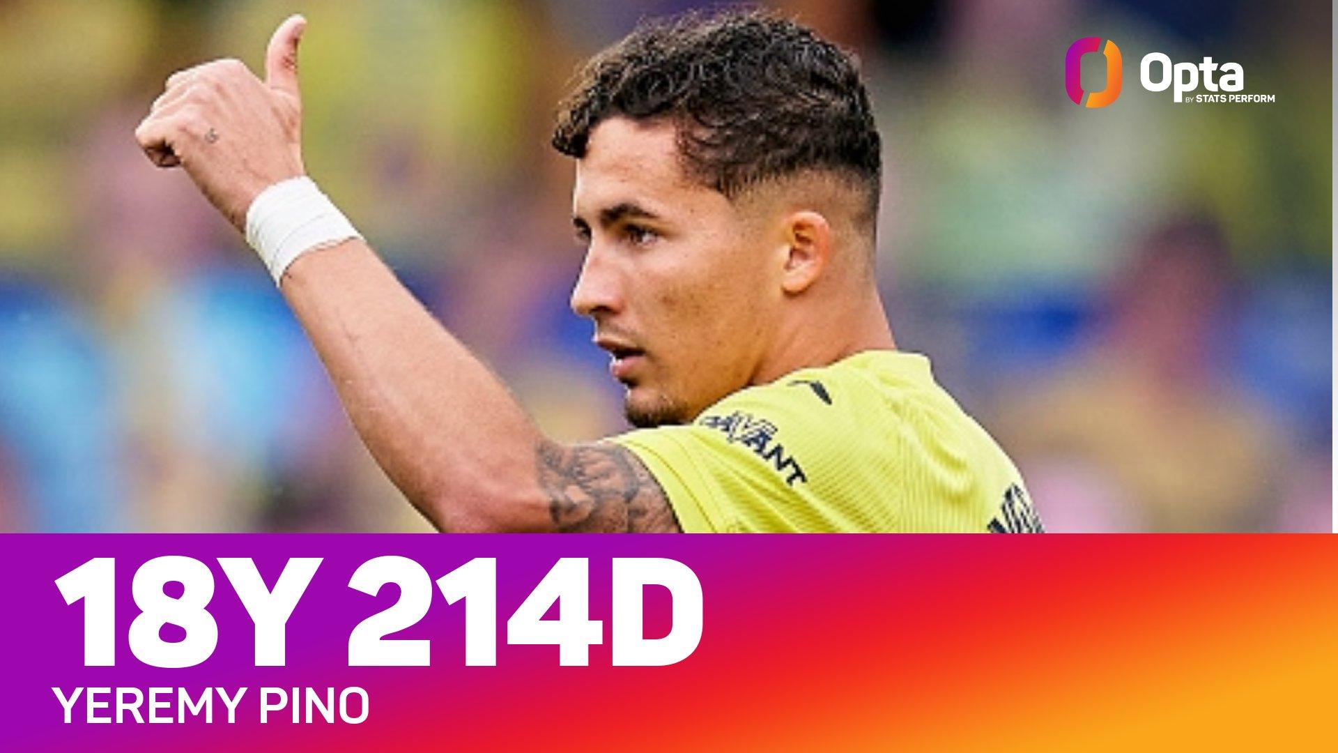 前途无量!耶雷米成本世纪西甲最年轻攻破皇马球门的球员