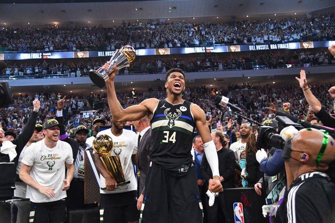 昔日主帅!基德发推:祝贺雄鹿夺得2021年NBA总冠军!