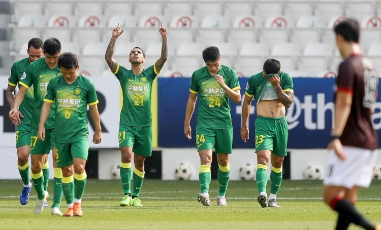 国安亚冠小组赛5连胜,创造队史纪录