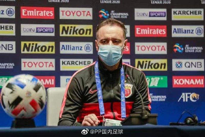 佩雷拉:对阵悉尼FC会非常困难;不上胡尔克是战术原因