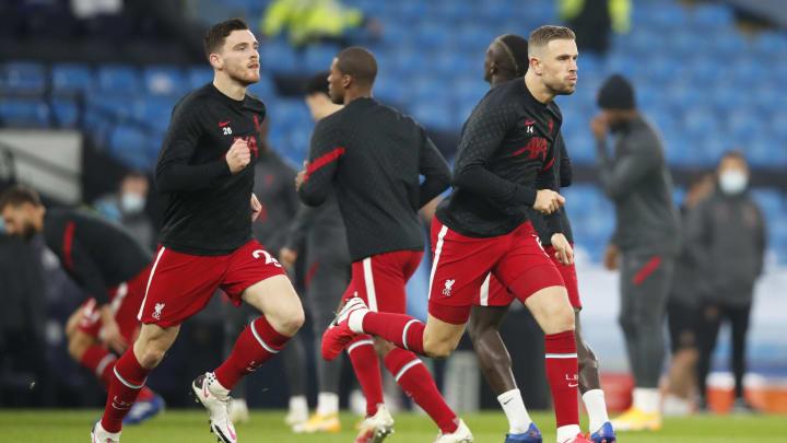TA:利物浦7名球员缺席训练课,蒂亚戈亨德森或无缘欧冠