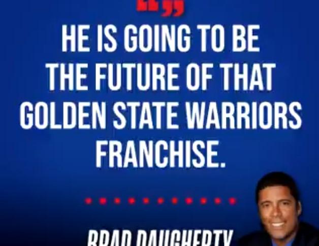 布拉德-多尔蒂:记住我说的话,怀斯曼会成为勇士的未来