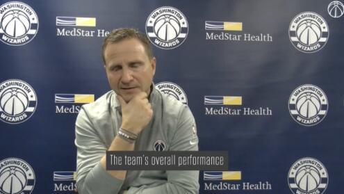 布鲁克斯:今天我跟候补们聊了,他们知道他们能打得更好