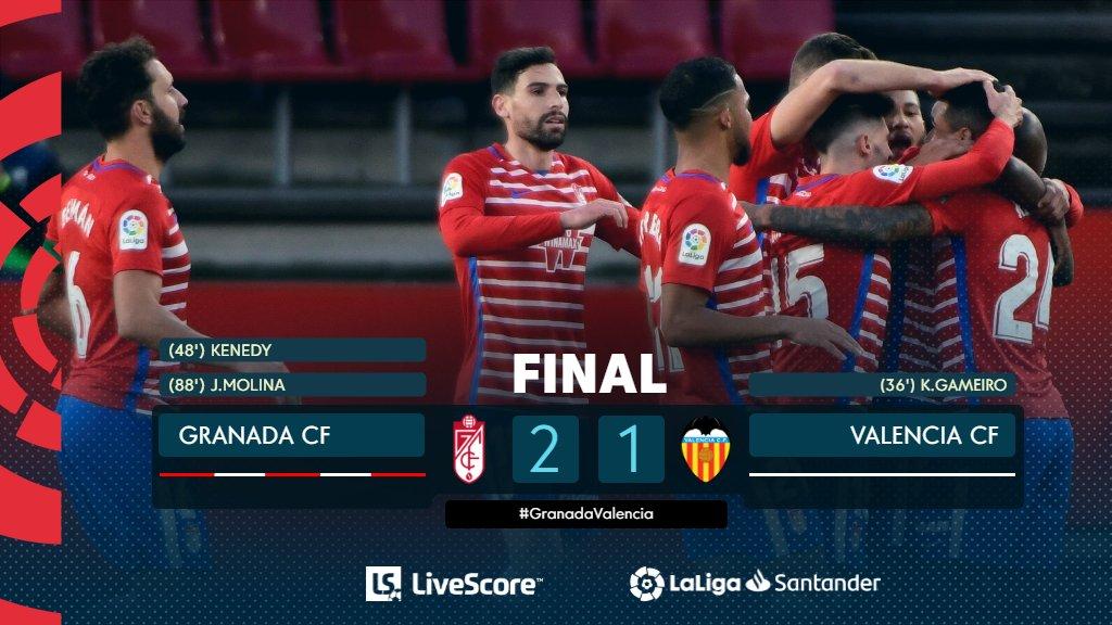 剧烈!格拉纳达与瓦伦西亚一战六分钟呈现三张红牌
