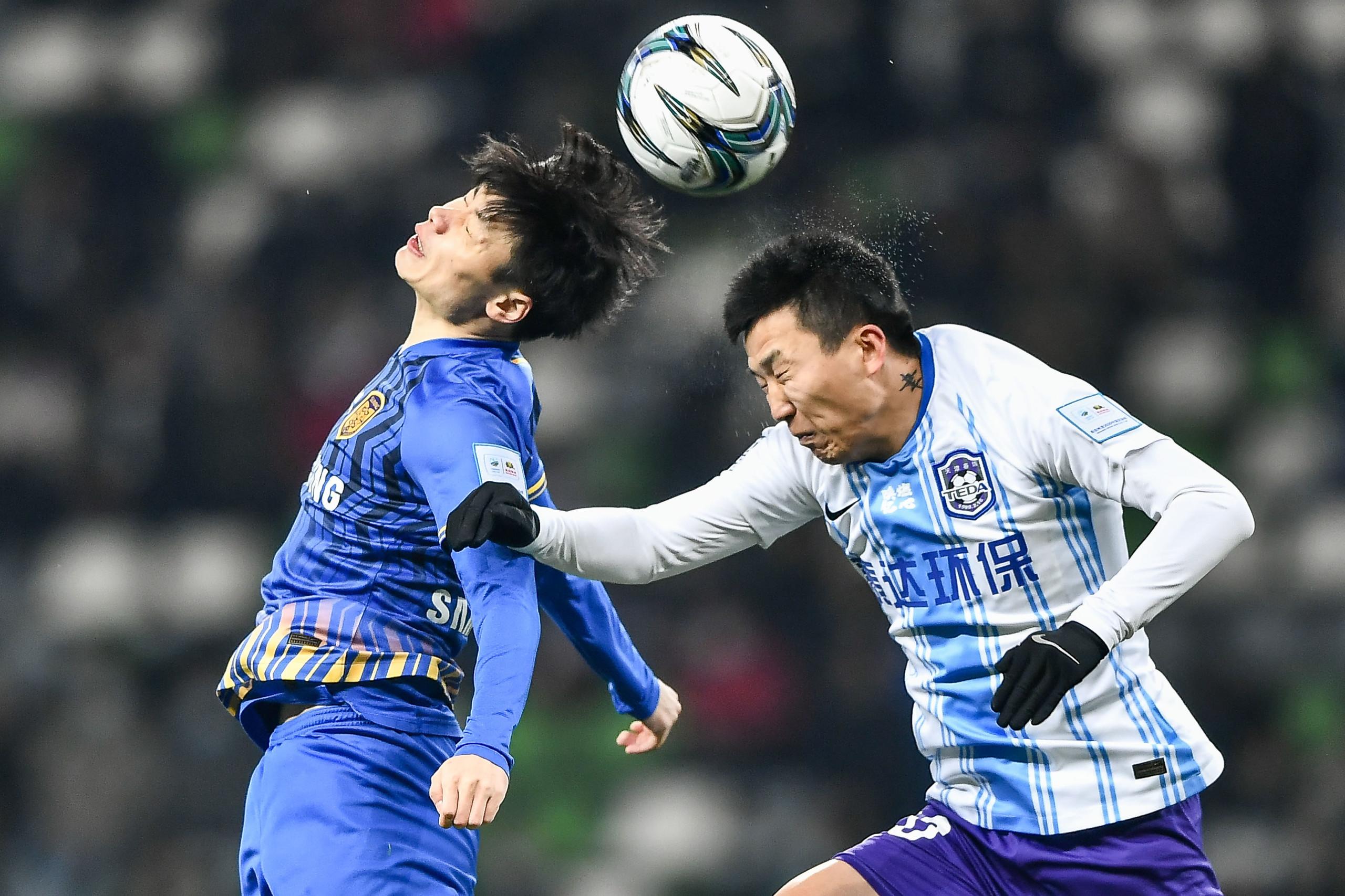 足协杯首回合:阿奇姆彭破门刘洋乌龙,苏宁1