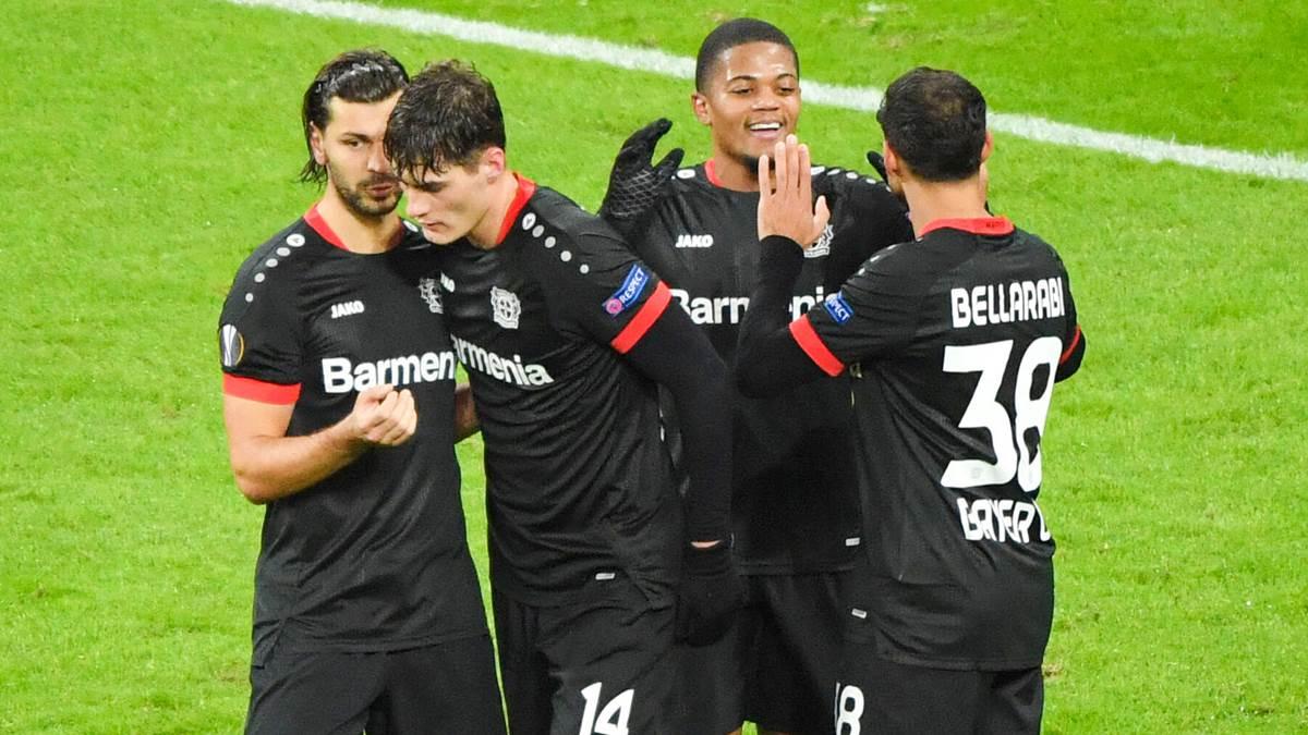 创造历史!勒沃库森欧联杯打进21球,德甲球队历史第一