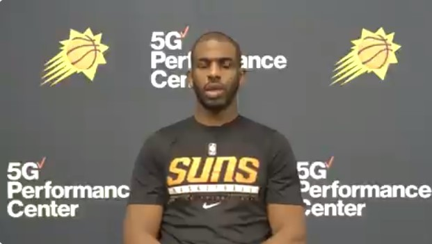 保罗:蔡恩充满能量,弹跳出众,必须限制他抢篮板