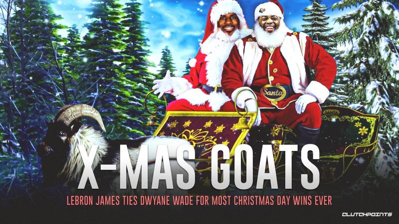 詹姆斯圣诞大打败场数追平韦德并排前史榜首