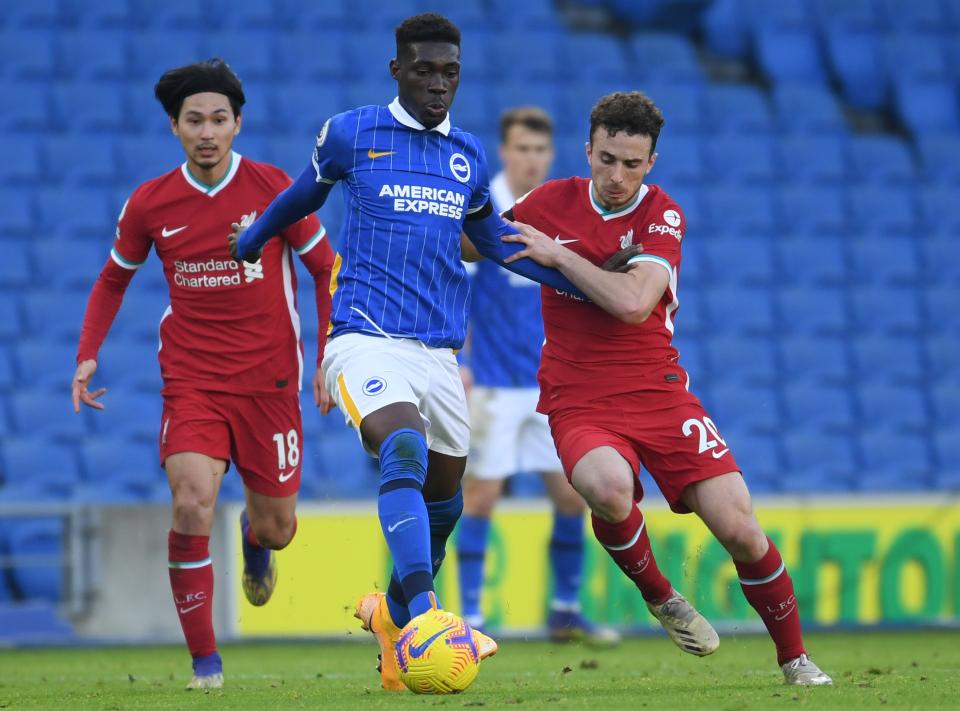 Talk Sport:阿森纳和利物浦正考虑为布莱顿中场比索马报价