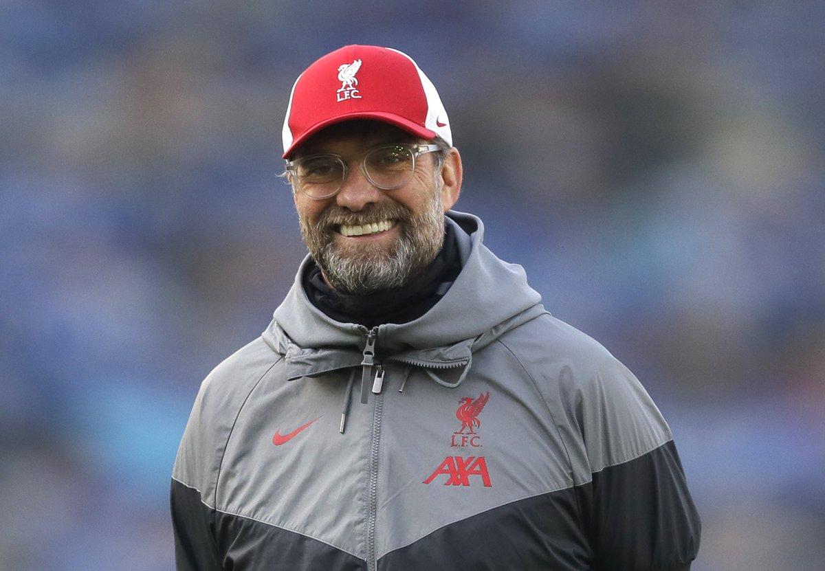 克洛普:虽然没赢球,但对利物浦的体现很满意