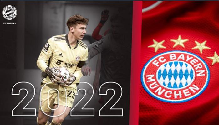 官方:拜仁与年轻门将施内勒尔续约