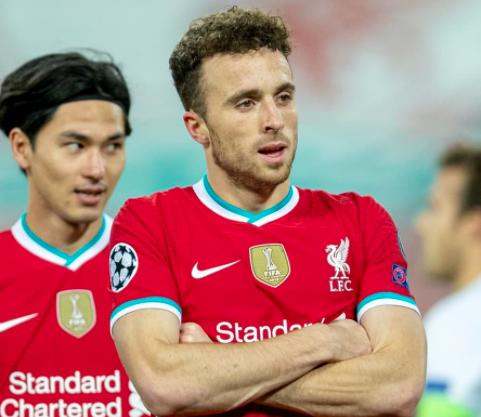 前队友:若塔才23岁,他有机会进入英超百球俱乐部
