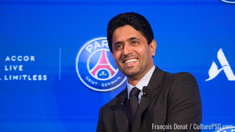 纳赛尔:看到卡瓦尼在对面颇有感触,巴黎的目标是晋级