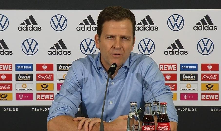 比埃尔霍夫:德国队不年轻但缺乏经验,要向高节奏转型