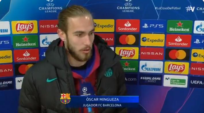 明戈萨:我还是B队球员,但只要巴萨需要就会全力以赴