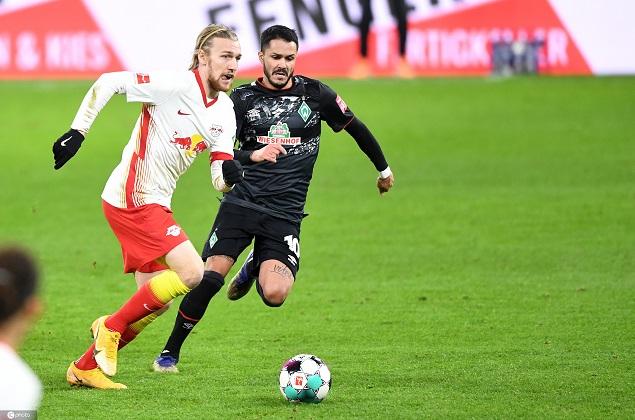 德甲:萨比策破门奥尔莫建功,莱比锡2-0首页不莱梅