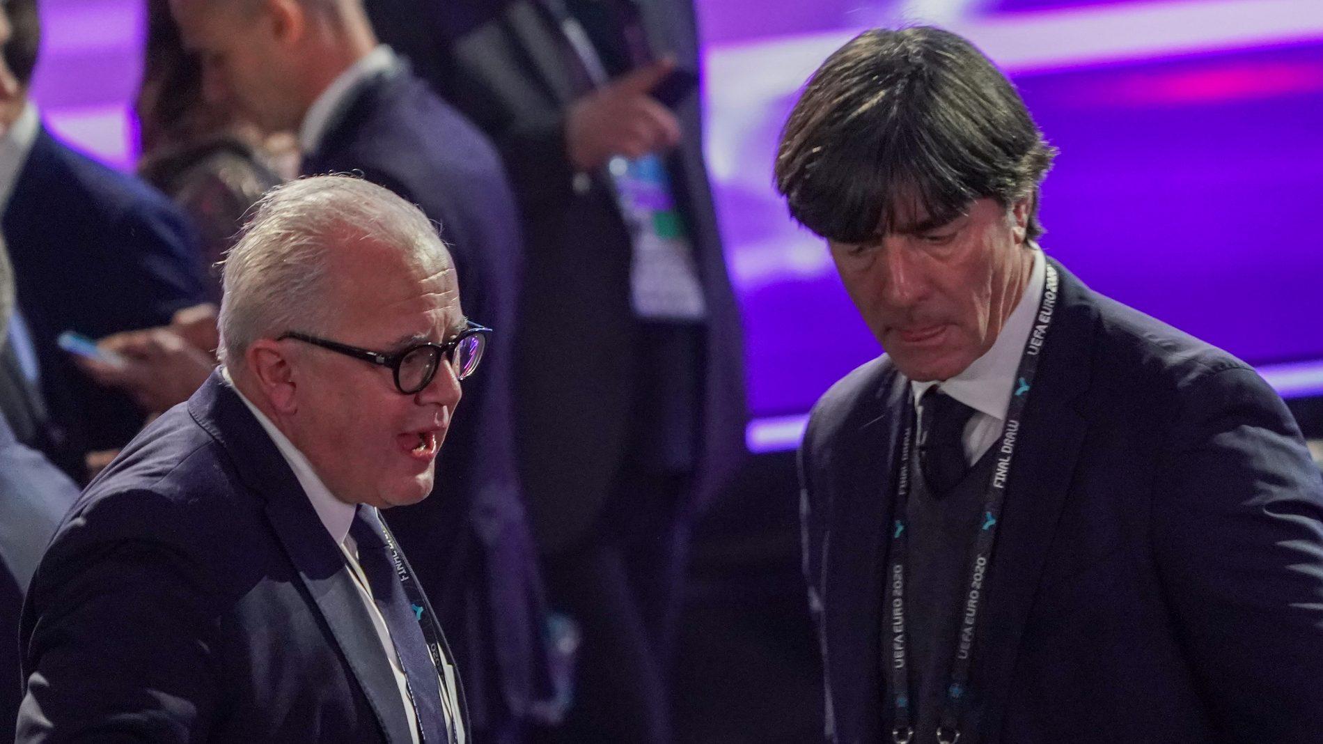 德媒:劝说下课遭拒绝,德国足协主席和勒夫关系破裂
