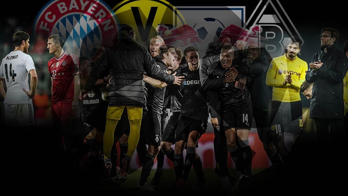 德甲盛世? 23年以来,首次有6支德甲球队晋级欧战淘汰赛