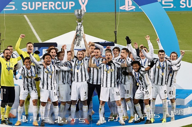 意超杯:C罗生涯第760球莫拉塔破门,尤文2-0那不勒斯夺冠