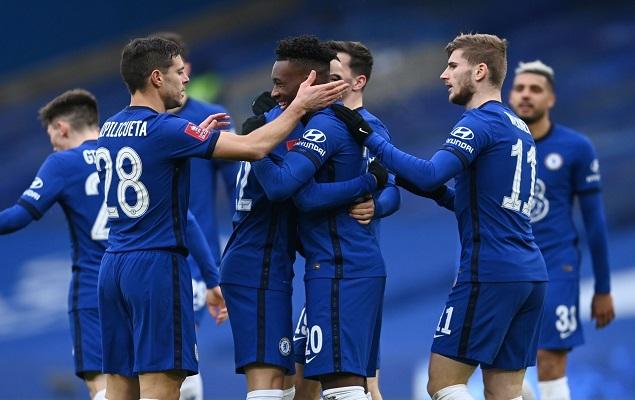 足总杯:奥多伊哈弗茨传射芒特国际波,切尔西4-0莫克姆